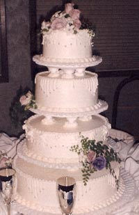 Larson S Bakery Wedding Cakes